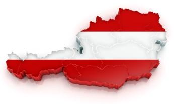 Австрия карта